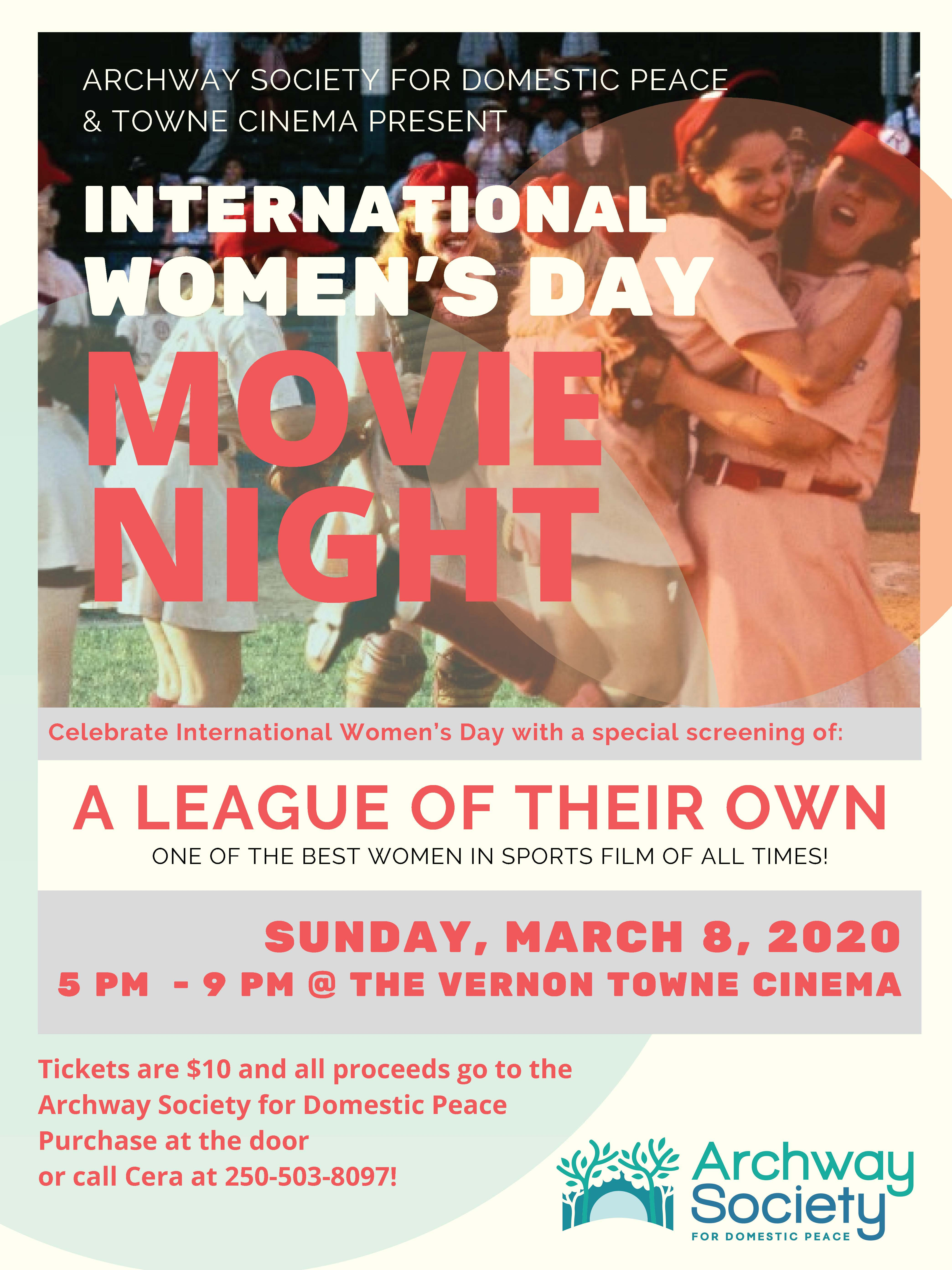 International Women's Day- Movie Night